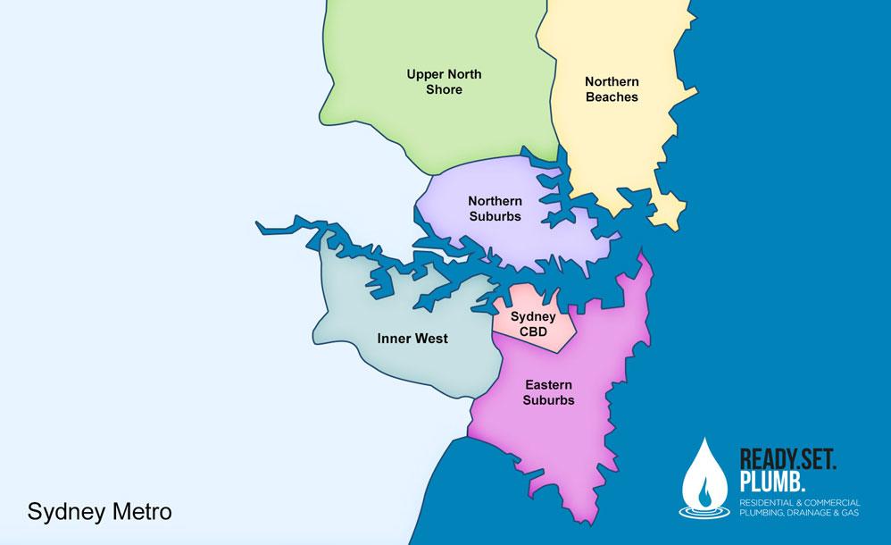 Plumber Sydney Map